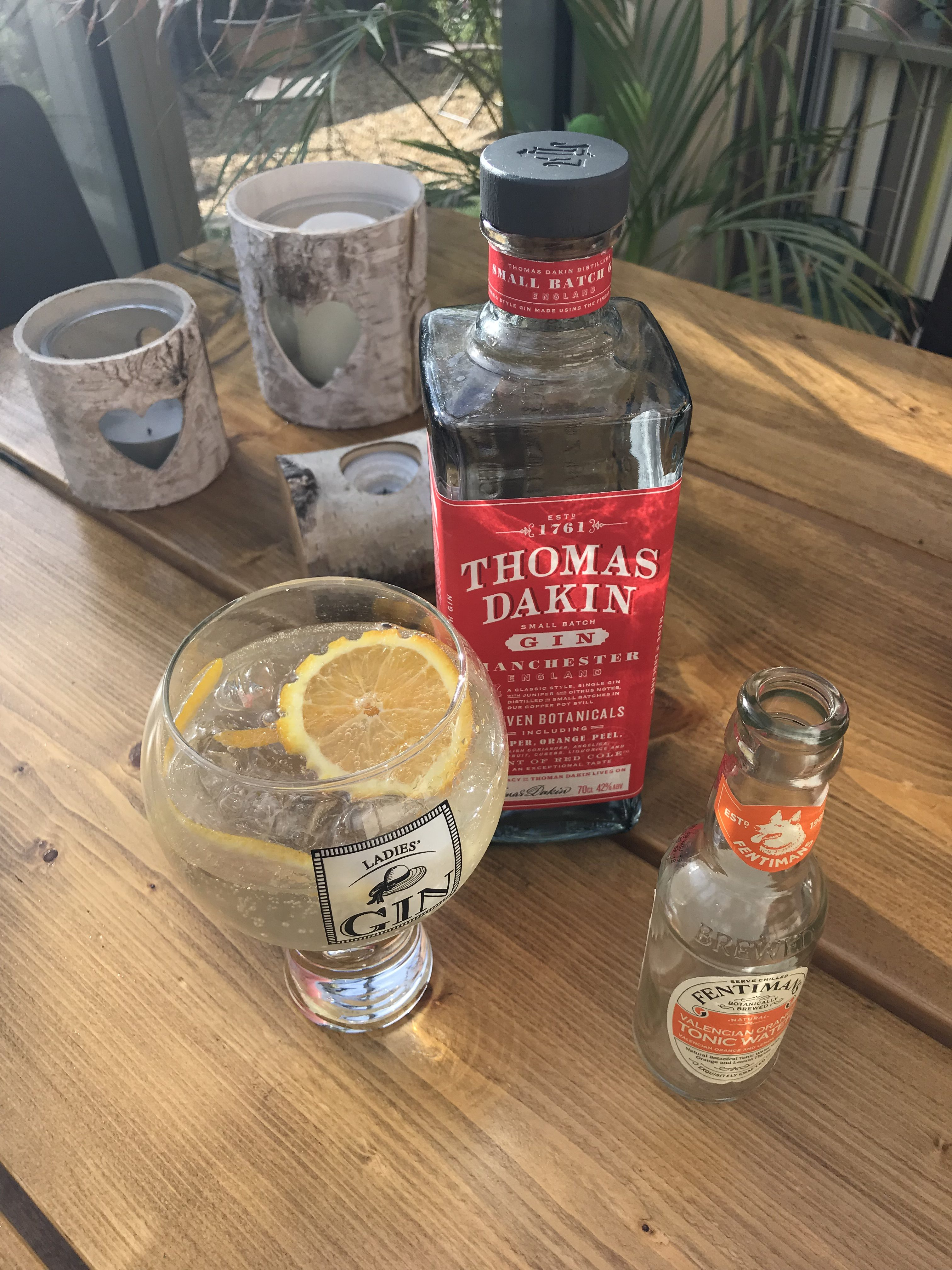 This is the Thomas Dakin Gin used with Fentimans to create a lovely drink.
