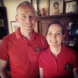 Bill and Anna Scantlebury are the owners of Cullercoats Brewery.