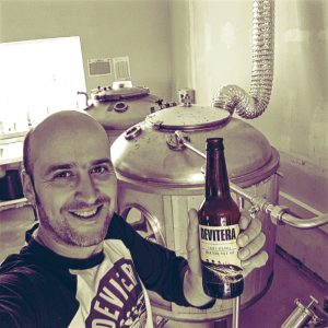 Here is Glen Upword from Devitera Microbrewery