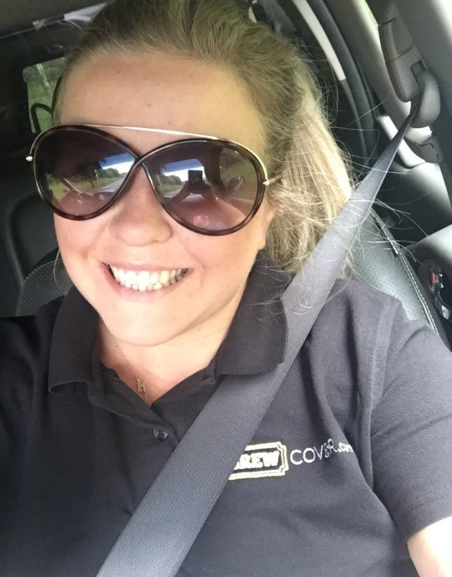 Here is Louise - Our Development Executive who is visiting Beer Brothers Brewery for a Brew Day!