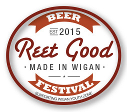 This is the Reet Good Beer Festival, which takes place in Wigan once a year.